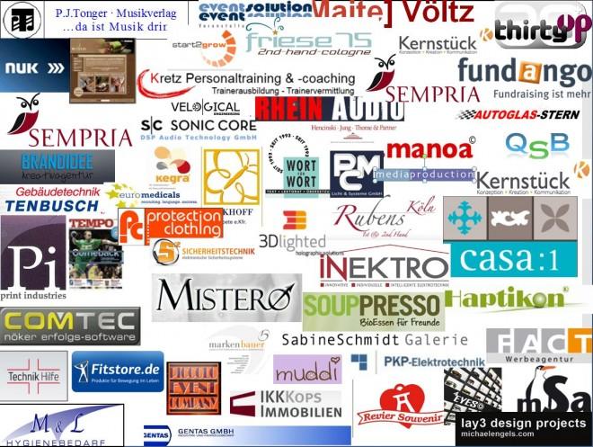 Logos als Referenzen vom Unternehmensberater Lambert Schuster