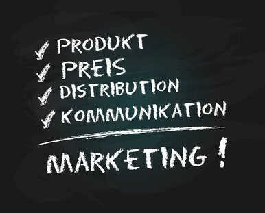 Marketingmix zum Marketingplan