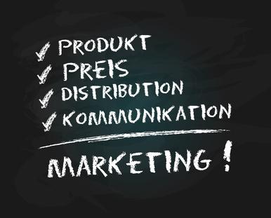 Marketingmix zum Marketingplan