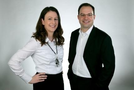 Petra Dentlinger und Dominique Riedl