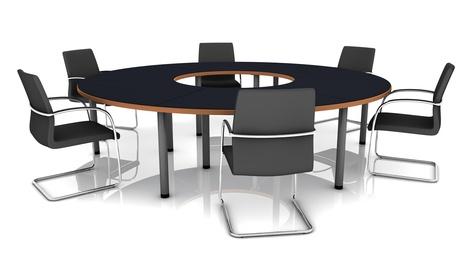 Runder Tisch in der Unternehmensberatung