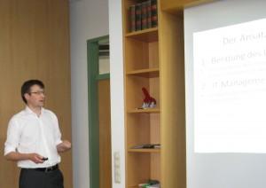 Bestandsaufnahme, Maßnahmenplanung und -umsetzung sowie Erfolgskontrolle der IT