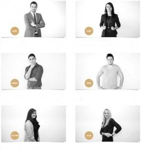 erfolgreicher Unternehmer mit neuem Führungssystem Agentur Fleißig mit Namen