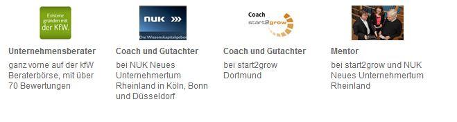 Gründercoaching mit Unternehmensberater Lambert Schuster