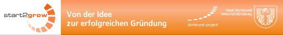 Gruendungswettbewerb start2grow in Dortmund