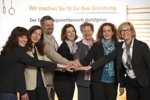 das start2grow Team