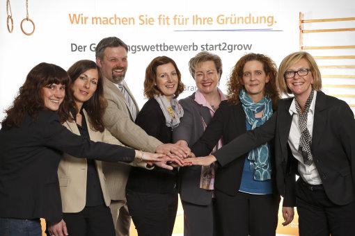 Start2grow-Gründungswettbewerb Abschluss 2014 mit tollen Preisen