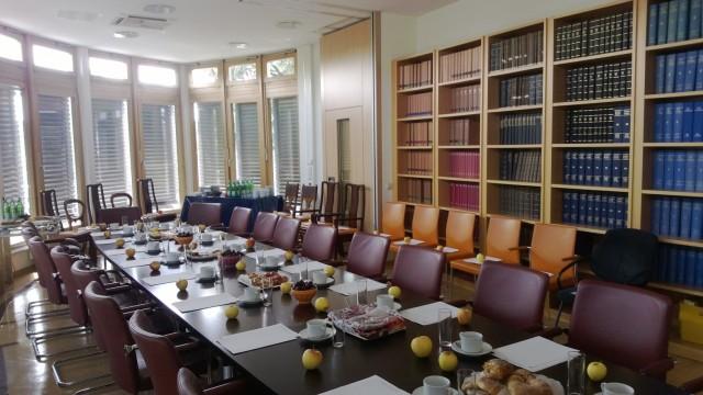 Kommunikation auf dem 2. Netzwerktreffen Runder Tisch Lambert Schuster