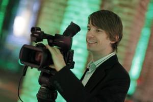 Christian Walenzyk bei der Arbeit