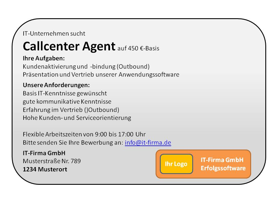 Tolle Call Center Agent Jobbeschreibung Lebenslauf Bilder - Beispiel ...