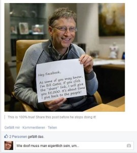 Bill Gates 5000 Dollar