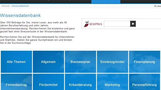 Die Wissensdatenbank von lambertschuster mit über kostenlosen 400 Beiträgen rund um die Unternehmensberatung im Responsive Webdesign