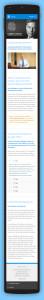 Responsive Webdesign auf dem Smart Phone der Webseite von Lambert Schuster