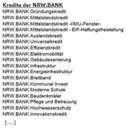 Kreditvirrwarr der NRW.Bank