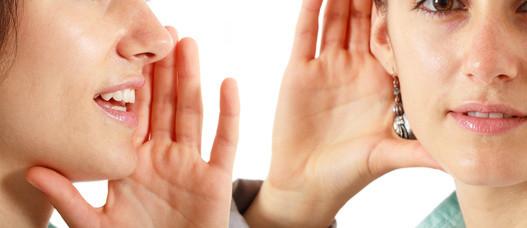 Kommunikation heißt HINhören und ZUhören