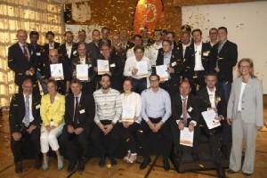 Preisträger zum start2grow Gründungswettbewerb 2014