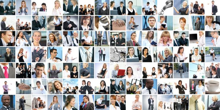 Menschen in der Unternehmensberatung