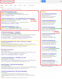 Google-Unternehmensberatung