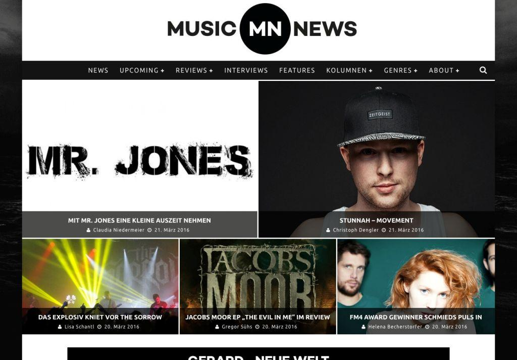 Musik-Dienst music-news.at