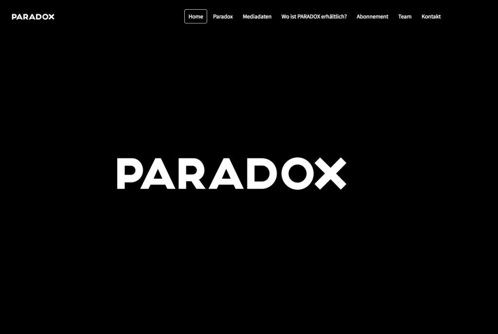 PARADOX-Magazin