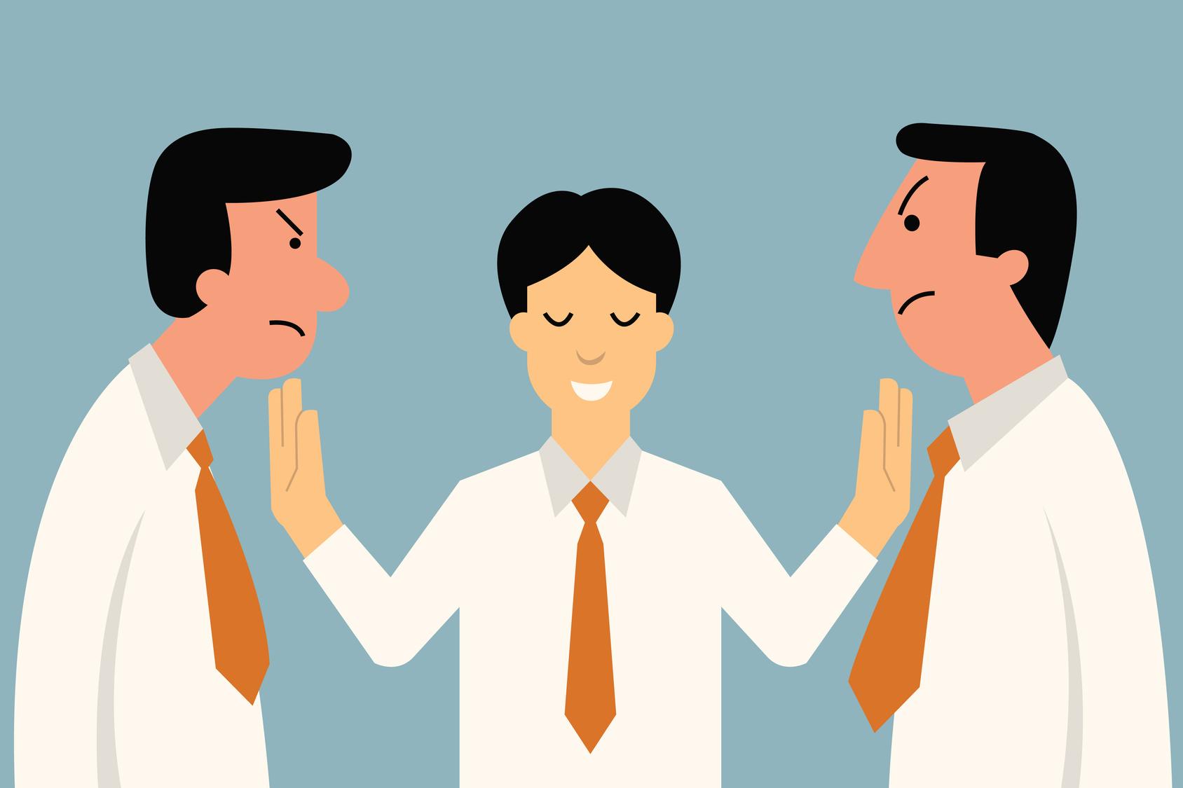 Mediator bei der Konfliktlösung: was tun bei Streitfragen?
